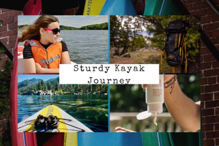sturdy kayak journey